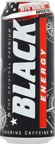 BLACK ENERGY DRINK PUSZKA 500ML