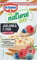 DR.OETKER JAGLANKA OWO. LEŚNE 40G MY NATURAL DAY