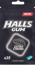 HALLS GUM EXTRA STRONG 36,5G