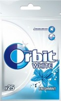 ORBIT WHITE FRESH 25 DRAŻETEK 35G